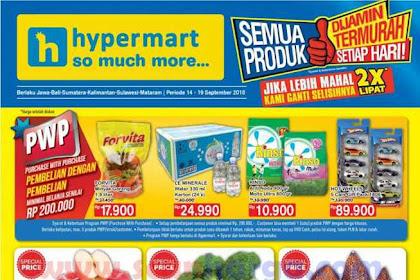 Katalog Promo Hypermart Terbaru 14 - 19 September 2018