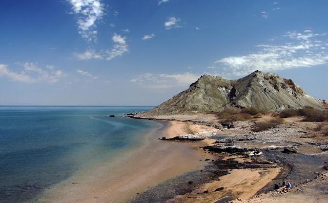 Isla de Hormoz en el Sur de Irán