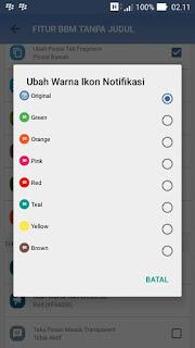 Tema BBM TERBARU - BBM MOD IYOS versi terbaru APK