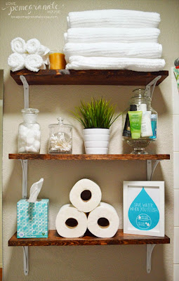Tiny-Ass Apartment: The renter's bathroom: 6 tips for de ...