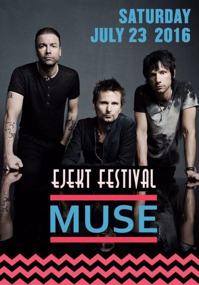 MUSE: 23 Ιουλίου στο Ejekt Festival. Όλες οι λεπτομέρειες για το live στην Πλατεία Νερού