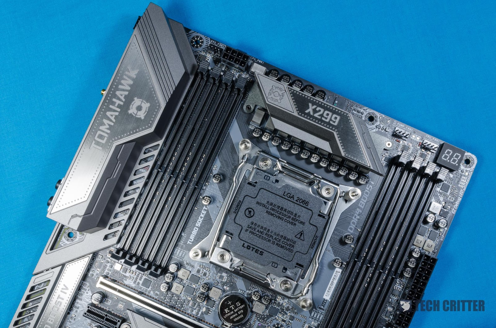 Unboxing & Overview: MSI X299 Tomahawk AC