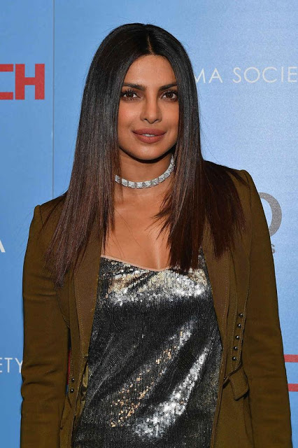 Priyanka Chopra Looks Hot at a Screening of Baywatch In NYC