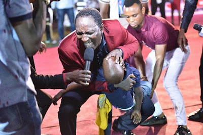 See Pictures of  Miracles @ Prophet Jeremiah's First Ever Crusade In Lagos