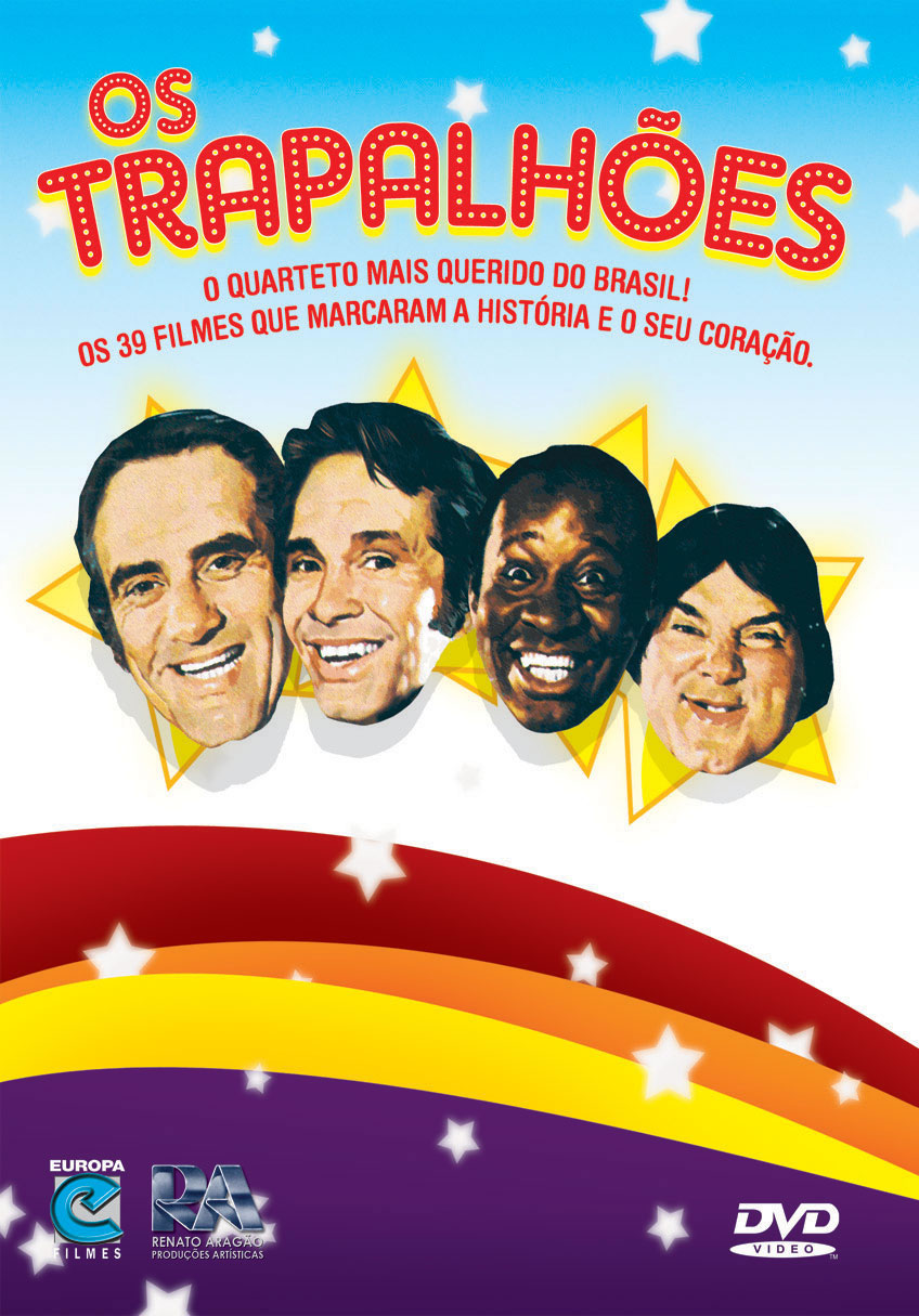 dvd-r os trapalhoes