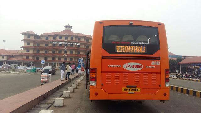 Ksrtc Kurtc Bus Timings From Nedumbassery Airport