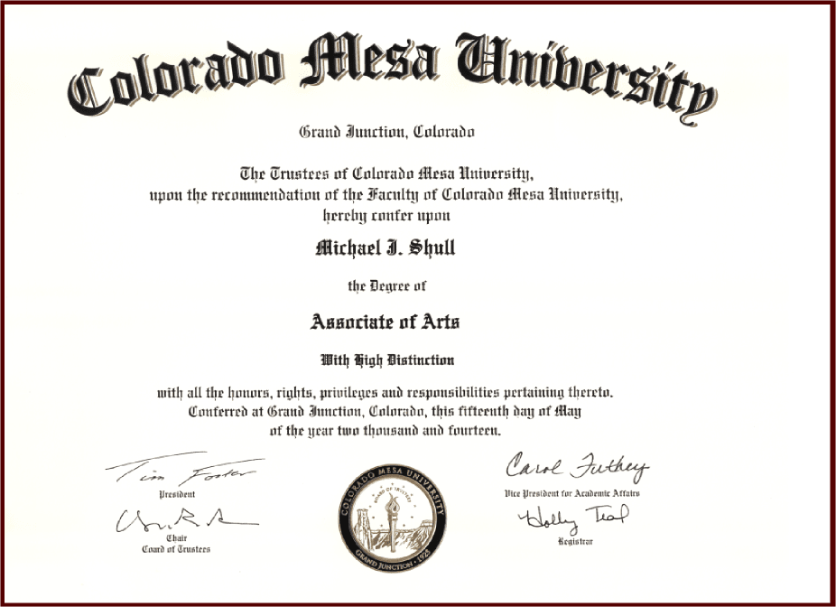 Associate Degree - Associates In Business Administration