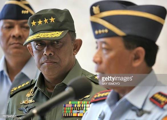 Giliran Mantan Panglima TNI Djoko Santoso Dilaporkan Kasus Makar