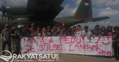 MAHAKRIPA UKI Toraja, Jadi Relawan di Lombok dan Serahkan Bantuan dari Masyarakat Toraja