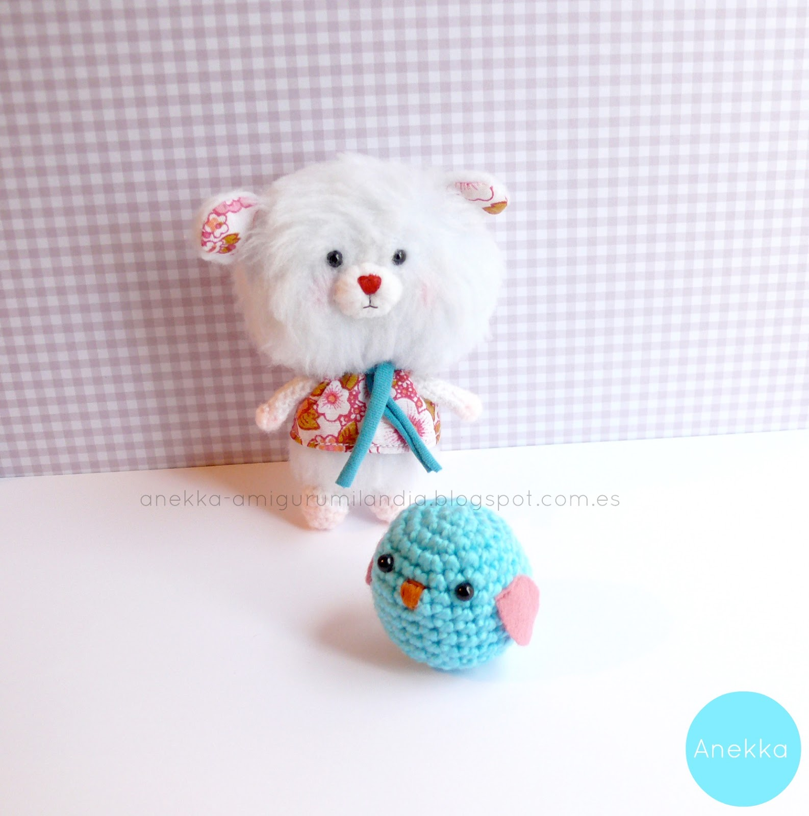 plush toy  anekka handmade