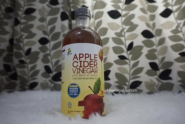 apple Cider Vinegar,cuka epal,buang angin,kembung perut,