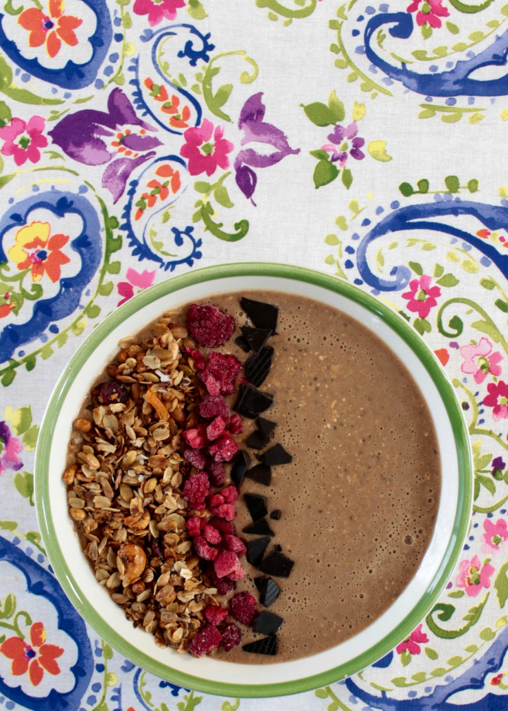 Banana Java Smoothie Bowl