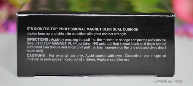 It's Skin It's Top Professional Magnet Blur Dual Cushion  review