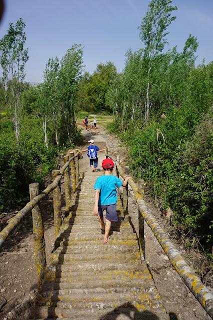 פארק החושים -מסלול