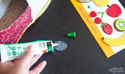 DIY espadrilles d'été pailletées