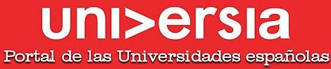 UNIVERSIA. PORTAL DE LAS UNIVERSIDADES ESPAÑOLAS Y LATINOAMERICANAS. Con el mecenazgo del Banco de Santander, Universia es una red constituida por 1.341 universidades de 23 países, que representan a 19,2 millones de estudiantes y profesores. Es la red de universidades más importante de Iberoamérica y un referente internacional de relación universitaria.