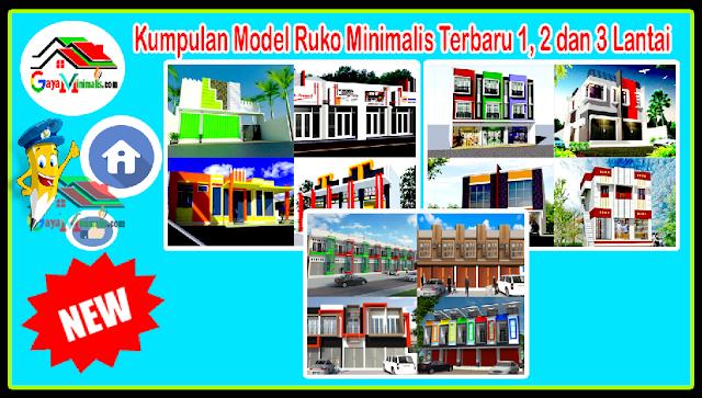 Kumpulan Model Ruko Minimalis Terbaru