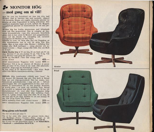 Nordiska Style Vintage IKEA catalogues