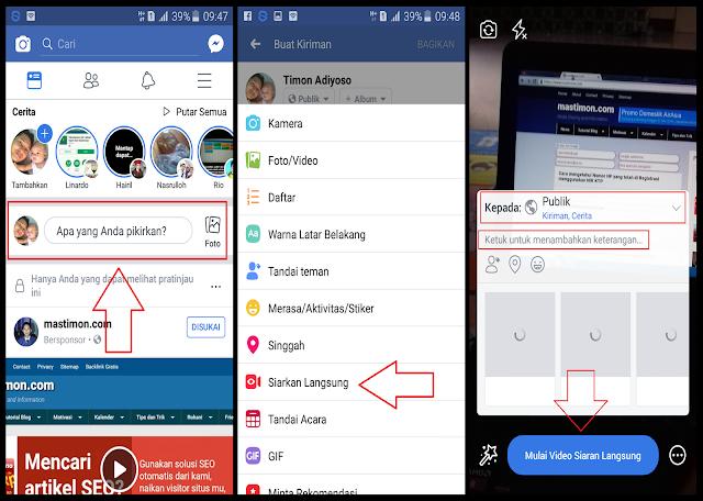 Cara melakukan Siaran Langsung di Facebook dengan Lancar tanpa Macet