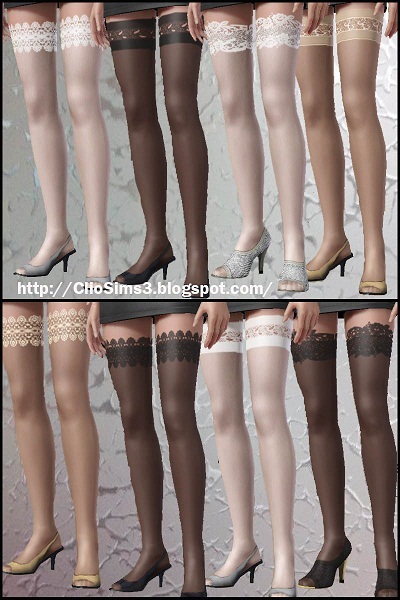 My Sims 3 Blog Stockings Set By Clio