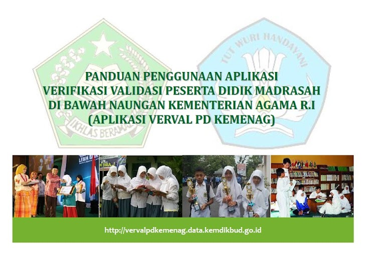 Panduan Verval NISN Peserta Didik Madrasah Melalui Verval PD Kemenag