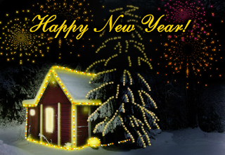 New year e-cards greetings free download