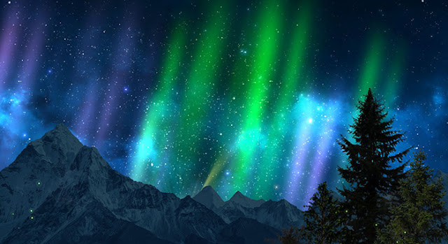 Northern Lights Wallpaper Engine