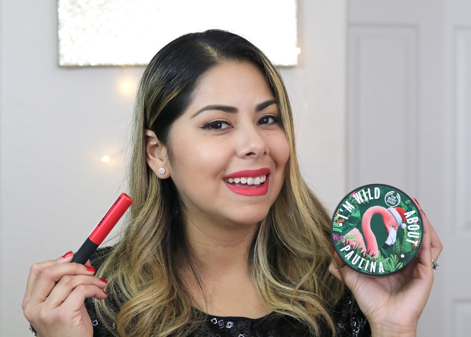Holiday Beauty Look with The Body Shop San Diego, Holiday Beauty Look, San Diego beauty blogger