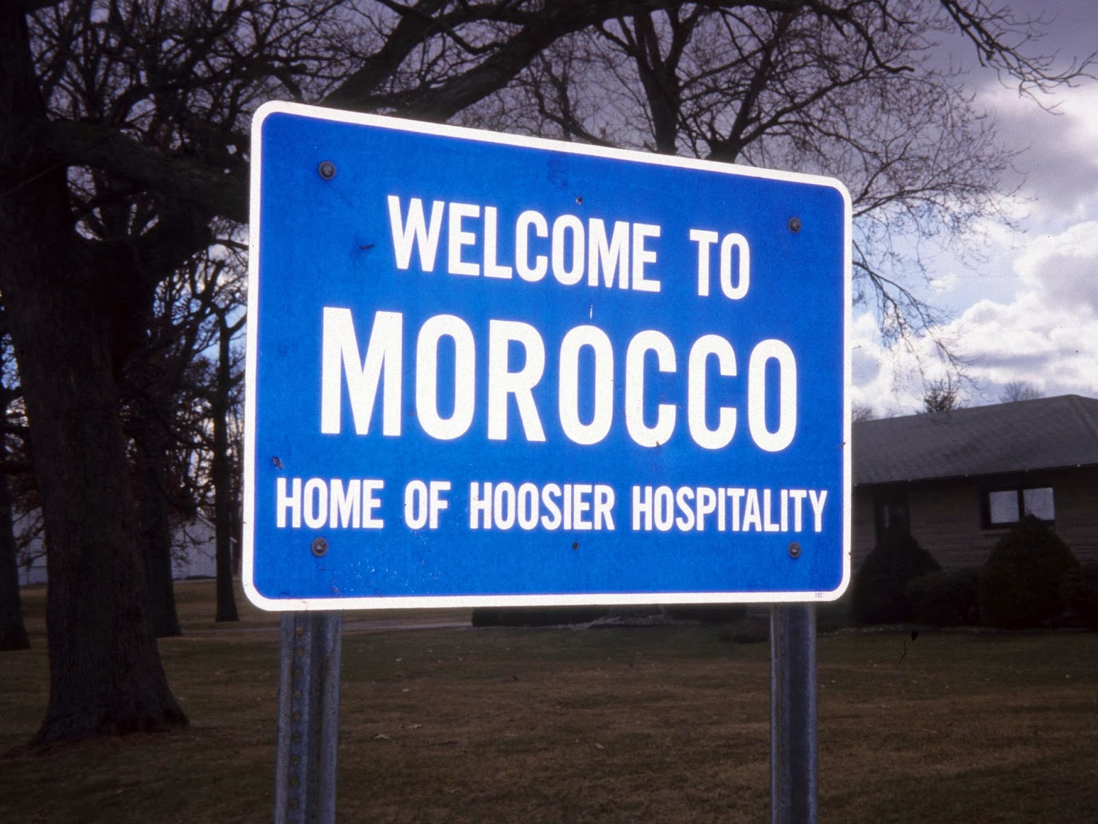 The World Comes To Heartland Welcome Morocco Indiana 1999 Home Of Hoosier Hospitality