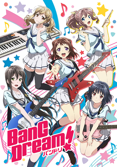 BanG Dream! S1 + S2 Sub Indo Batch Download