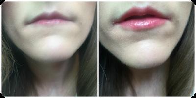 wearing makeup revolution lip power everything's alright lipstick