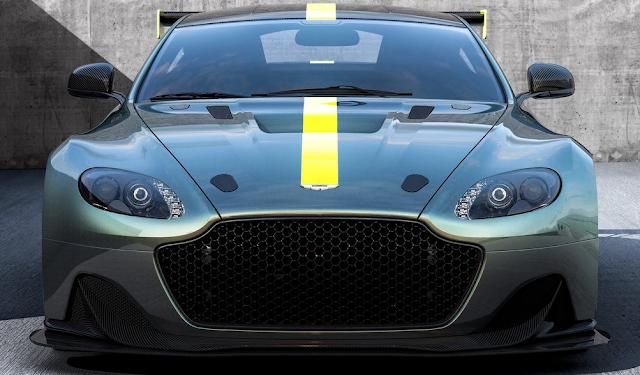 2018 Aston Martin Vantage AMR Pro Front