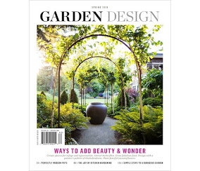 GARDEN DESIGN  MAGAZINE spring issue