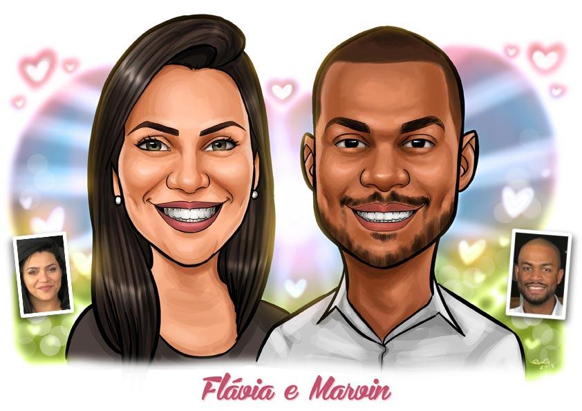 caricatura brasilia df
