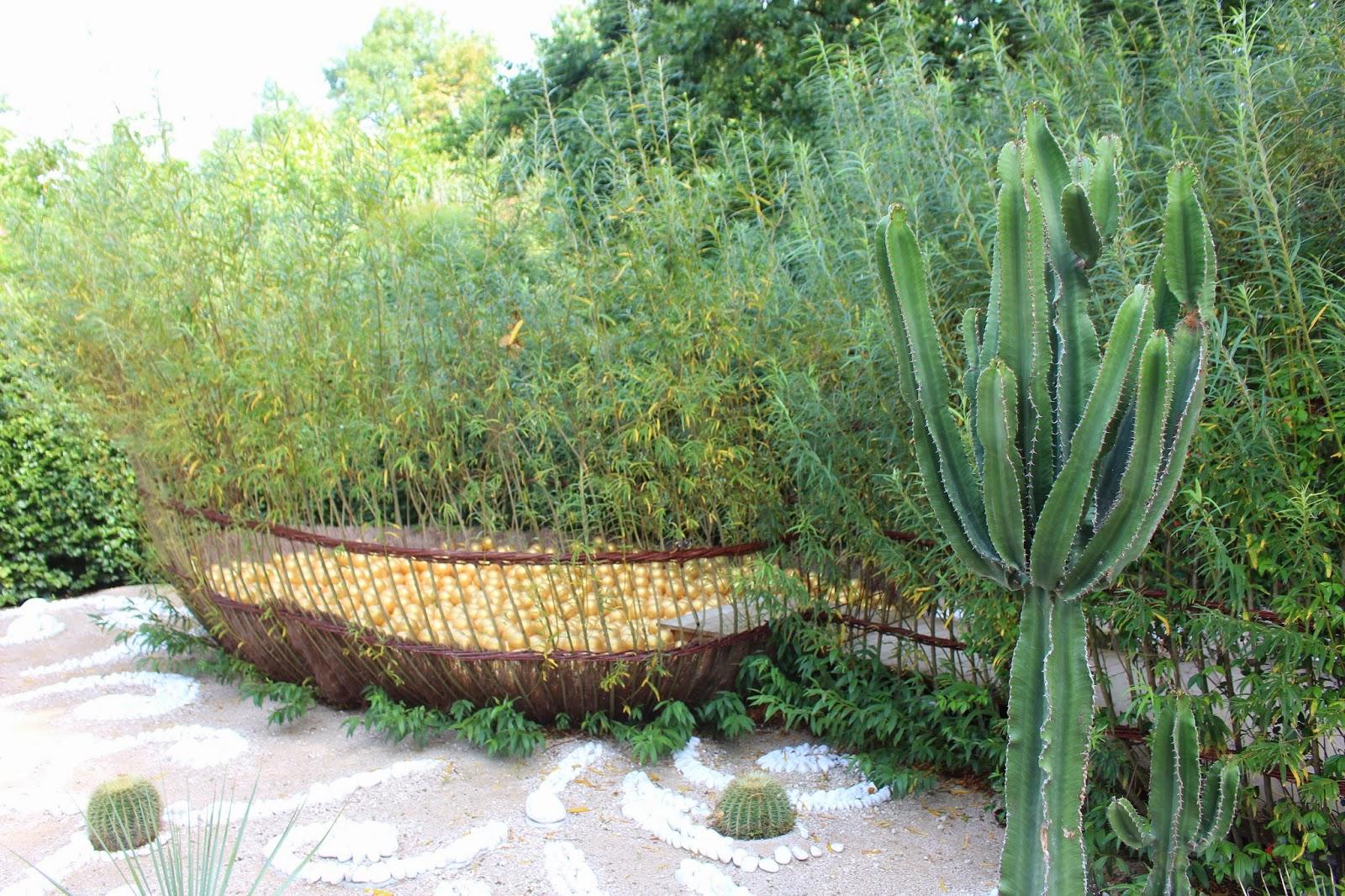 Le r cr art delfie chaumont sur loire jardins des for Jardin 7 peches capitaux