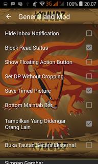 BBM MOD Kyubi Kurama v3.1.0.13 APK