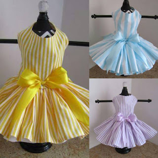Striped Dog Dress