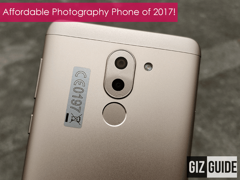 Our affordable photography smartphone of the year is Huawei GR5 2017!