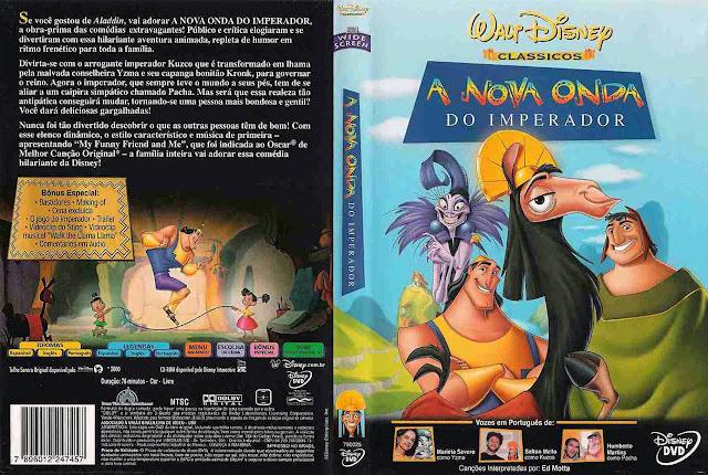 Capa DVD A NOVA ONDA DO IMPERADOR