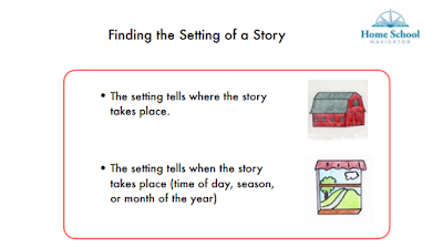 Finding the Setting of a Story