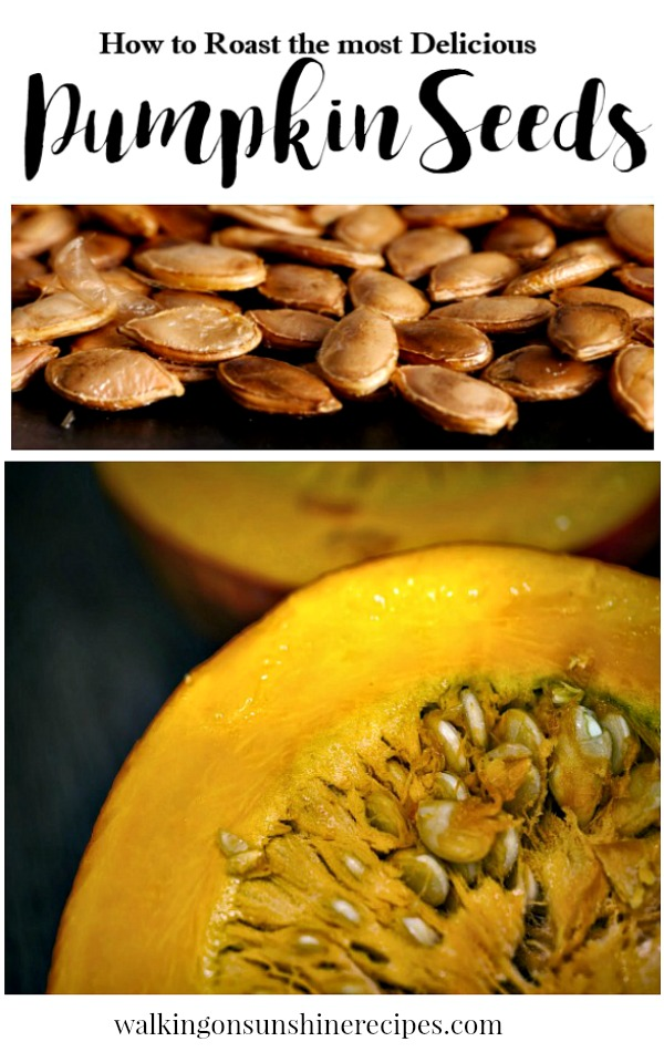 How to Roast the Most Delicious Pumpkin Seeds from Walking on Sunshine Recipes