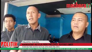 VIDEO: Kembalikan Formulir, Ini Janji Achyar Amir untuk PAN Palopo