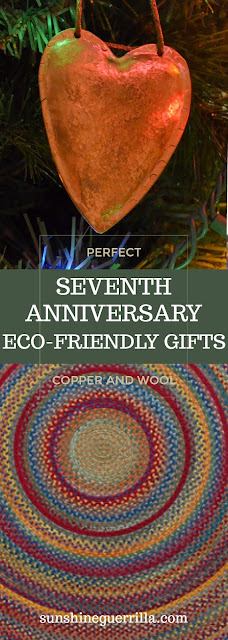 perfect and unique seventh anniversary copper and wool gift ideas