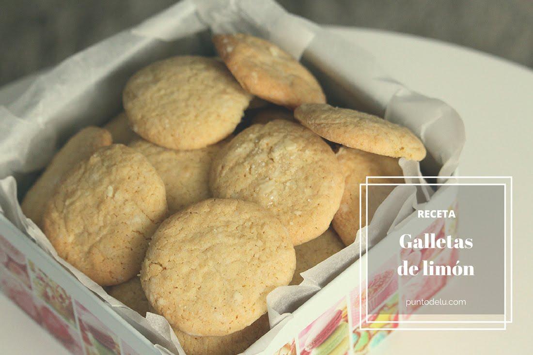 Receta para hacer deliciosas galletas de limón Punto de Lu