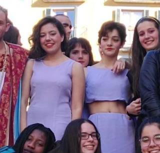 Laura e Marina: as nosas actrices