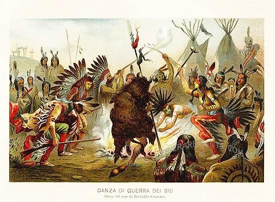 Dime web i popoli amerindi i sioux gli uomini serpenti for Trappole per serpenti