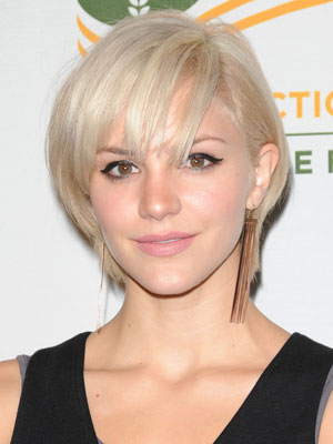 cute short blonde bob hairstyles for womens from katharine