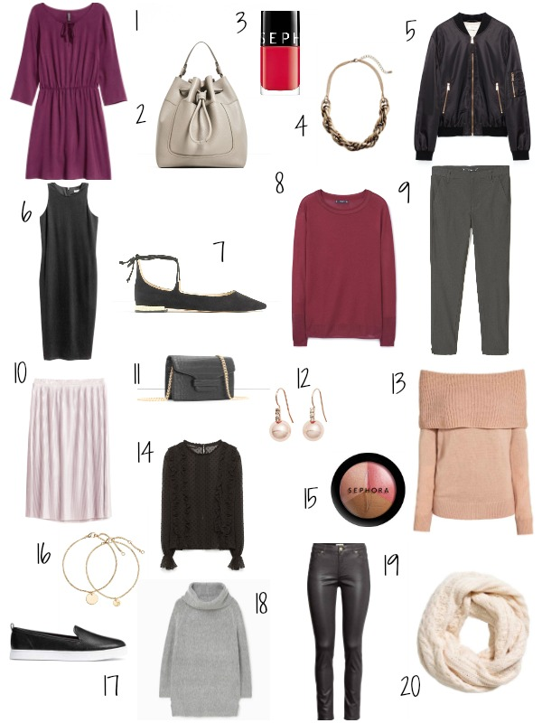 Shop now these 20 under 20 euro fashionable pieces - Ioanna's Notebook