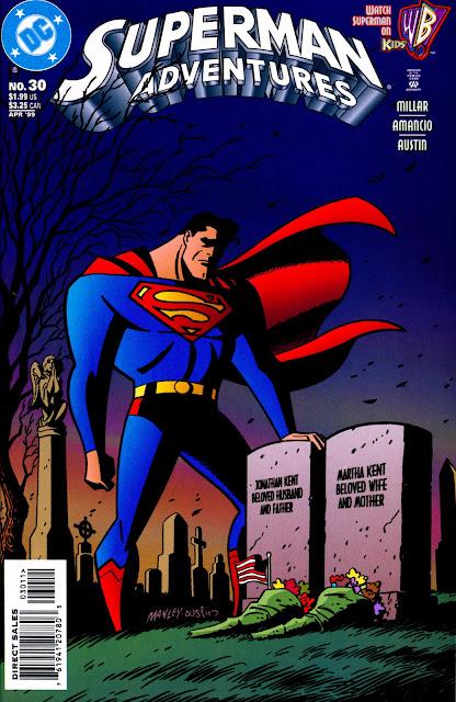 Cómic de Superman Adventures