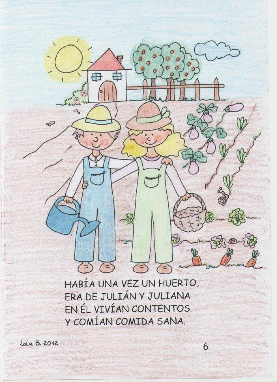 Nuestro Huerto Escolar Hispanidad Elx Cuento El Huerto De Julián Y Juliana